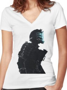 Dead Space Women's Fitted V-Neck T-Shirt