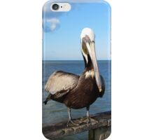 Sitting On The Pier iPhone Case/Skin