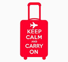 Keep Calm and Carry on Luggage Unisex T-Shirt
