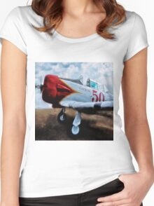 T6 Texan 2 Women's Fitted Scoop T-Shirt