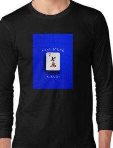 "Lucky Seven ""Mah Jongg Maven"" #7 ~ Mah Jongg Series Long Sleeve T-Shirt"