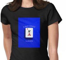 """Lucky Seven """"Mah Jongg Maven"""" #7 ~ Mah Jongg Series Womens Fitted T-Shirt"""