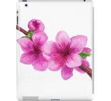 Pink flowers of peach iPad Case/Skin