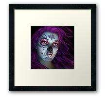 Sugar Doll Purple Framed Print