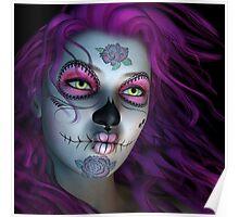 Sugar Doll Purple Poster