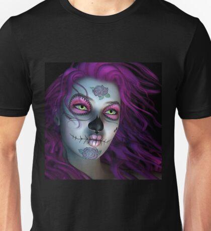 Sugar Doll Purple Unisex T-Shirt