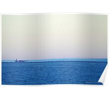 View On Gardiners Point Island | Orient Point, New York Poster