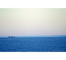 View On Gardiners Point Island | Orient Point, New York Photographic Print