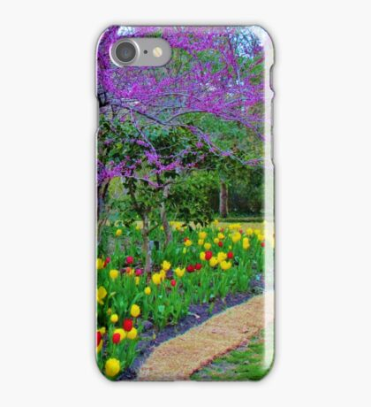 A Spring Garden iPhone Case/Skin