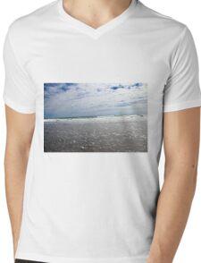 Sky Meets Ocean Mens V-Neck T-Shirt