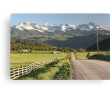 The Scenic Route Canvas Print