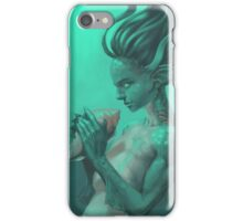Mermaid with Shell iPhone Case/Skin
