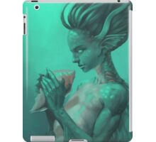 Mermaid with Shell iPad Case/Skin