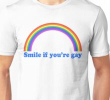 Smile If You're Gay Unisex T-Shirt