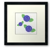 Blue Roses Framed Print