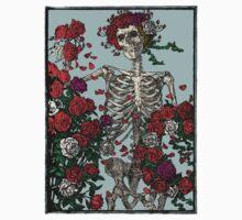 Skeleton & Roses Kids Tee