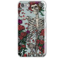 Skeleton & Roses iPhone Case/Skin