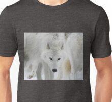 Wolf Stare-Down Unisex T-Shirt