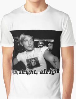Well alright, alright, alright! Graphic T-Shirt