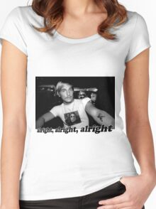 Well alright, alright, alright! Women's Fitted Scoop T-Shirt
