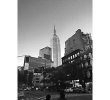 Empire State B&W Photographic Print