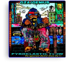 Genius GZA Pyroclastic Flow Canvas Print