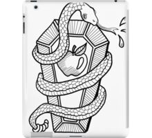 Coffin of Knowledge: Memento Mori iPad Case/Skin