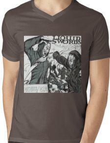 Liquid Swords Album Art Sketch Mens V-Neck T-Shirt