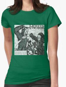 Liquid Swords Album Art Sketch Womens Fitted T-Shirt