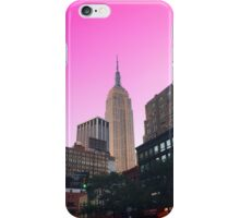 Empire State Pink iPhone Case/Skin