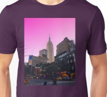 Empire State Pink Unisex T-Shirt