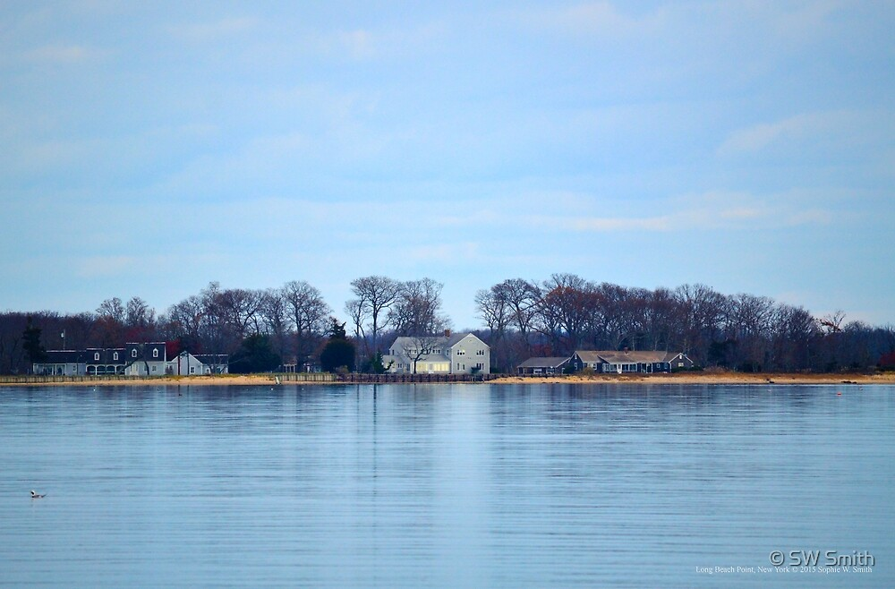 View On Shelter Island | Long Beach Point, New York by © Sophie W. Smith