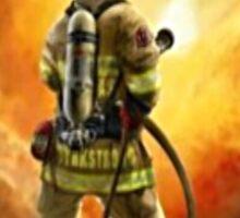 Firefighters Know Fear!  Sticker
