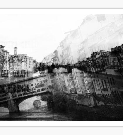 Italy – Ponte Vecchio Florence Sticker