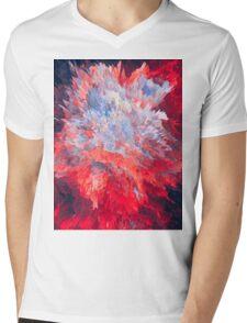 Abstract 63 Mens V-Neck T-Shirt