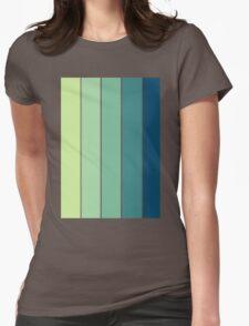 Color Scheme: Rainforrest Womens Fitted T-Shirt