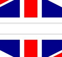 UK Flag ×2 Sticker