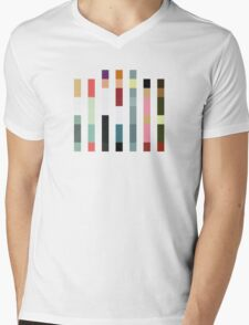 Look Closely (Barcode Edition) Mens V-Neck T-Shirt