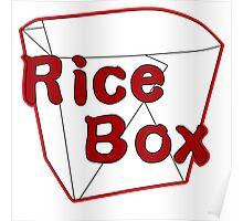 Rice Box Poster