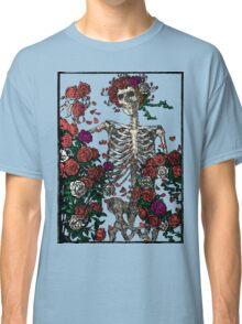 Skeleton & Roses - transparent Background Classic T-Shirt
