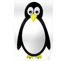 Penguin Character Poster