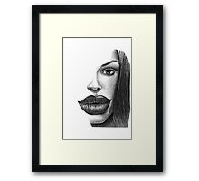 ANGELIKA Framed Print