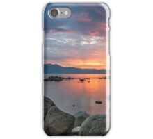 Dusk at Zephyr Cove iPhone Case/Skin