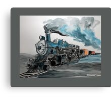 Old No 811 engine Canvas Print