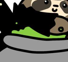 Witch Cauldron Sloth Sticker