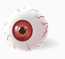 Red Eyeball Baby Tee