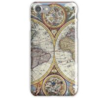 Old Map of the World iPhone Case/Skin