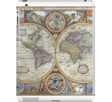 Old Map of the World iPad Case/Skin