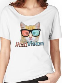 Cat Vision Women's Relaxed Fit T-Shirt
