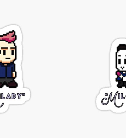 Community - Milady and Milord Sticker